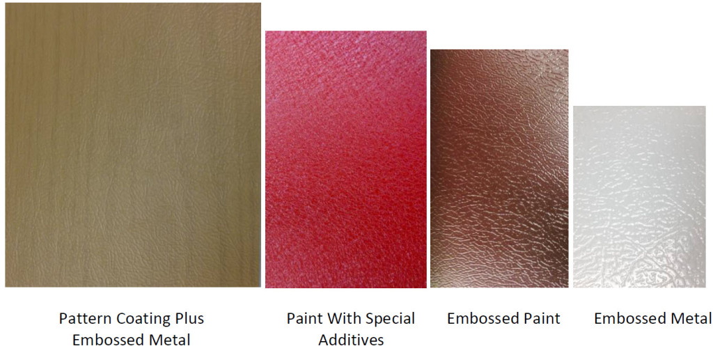 Coil Paint and Metal Embossing